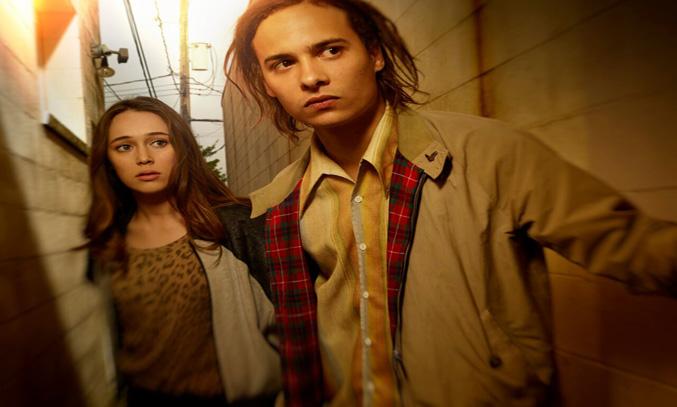 "Alycia Debnam-Carey as Alicia and Frank Dillan e as Nick in AMC's ""Fear the Walking  Dead"" on BT TV - Photo Credit: Frank Ockenfels 3/AM C"