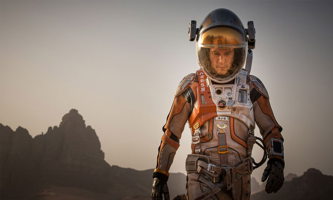 Matt Damon stars as Mark Watney in THE MARTIAN © 2015 Twentieth Century Fox Film Corporation