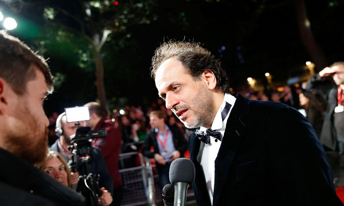 Director Luca Guadagnino attends the screening of A Bigger Splash, during the BFI London Film Festival at Odeon Leicester Square on October 9, 2015 in London, England.  (Photo by John Phillips/Getty Images for BFI)