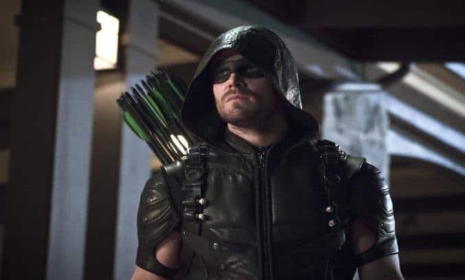 Stephen Amell as Green Arrow in ARROW Season Four