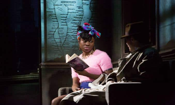 Vivienne Acheampong in Paul Auster's CITY OF GLASS. by 59 Productions Photo by Jonathan Keenan