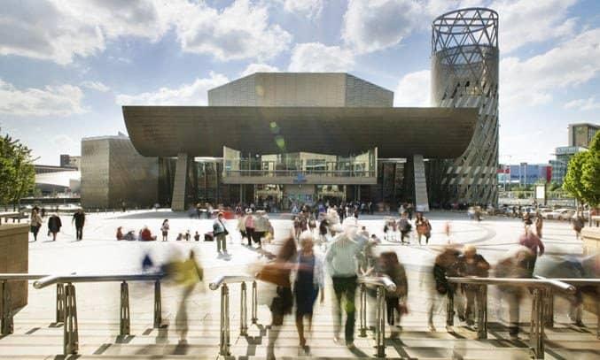 The Lowry Theatre Exterior Design