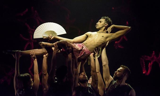 Shobana Jeyasingh's BAYADERE – THE NINTH LIFE ROH 2015. Photo: Bill Cooper
