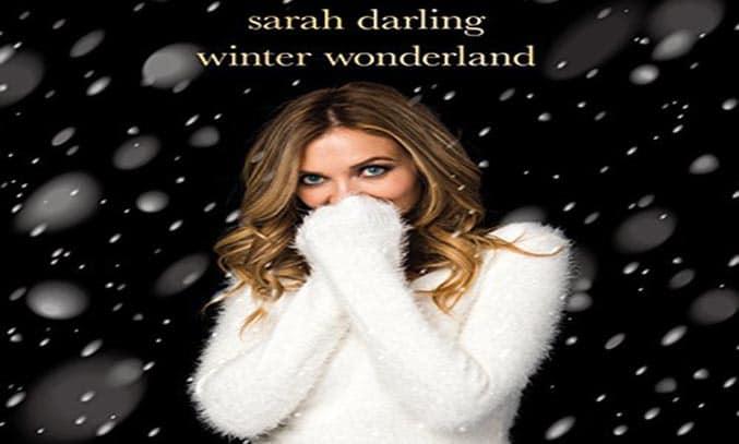 Sarah Darling WINTER WONDERLAND Album Artwork