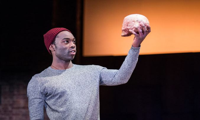 Paapa Essiedu in RSC's touring production of HAMLET