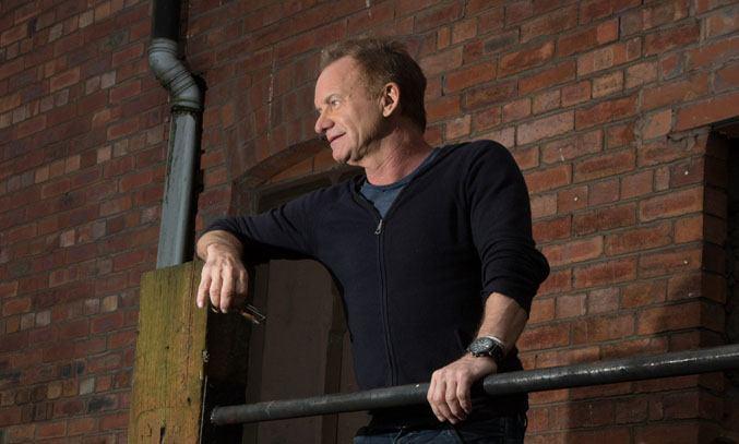 Sting at THE LAST SHIP Media Launch at Victoria Warehouse. Photo Credit: Nathan Cox
