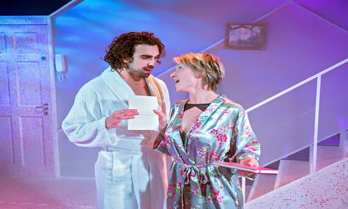 Sharif Afifi and Johanne Murdock in THE TOYBOY DIARIES