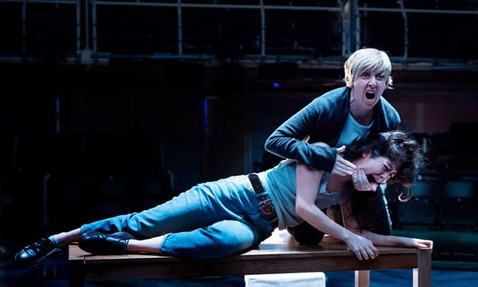 Julie Hesmondhalgh and Norah Lopez Holden in THE ALMIGHTY SOMETIMES. Photo: Manuel Harlan
