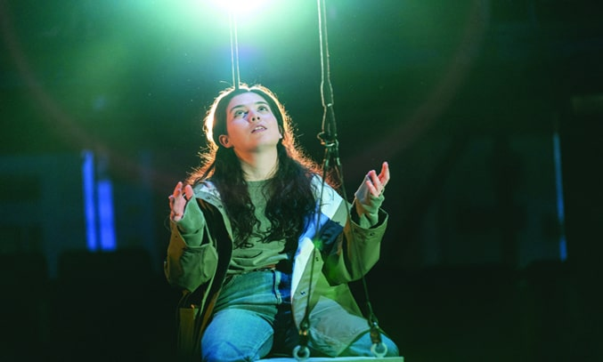 Norah Lopez Holden as Anna in THE ALMIGHTY SOMETIMES. Photo: Manuel Harlan