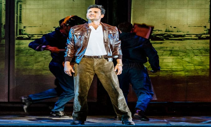 Ben Adams as Nick Hurley in FLASHDANCE