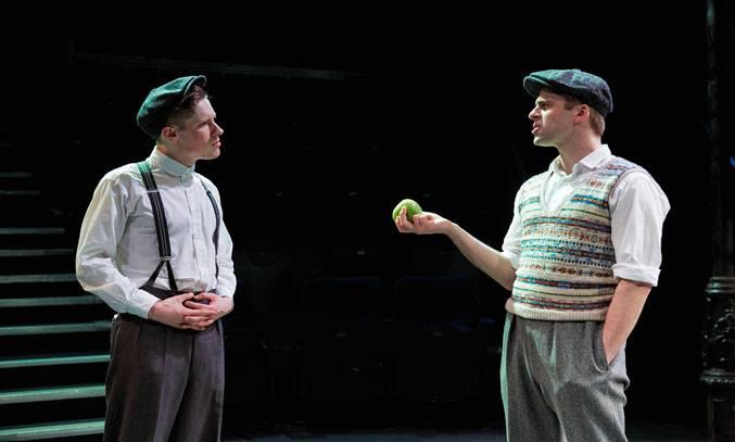 Dan Parr as Bill and Harry Long as Alfie in THE BIG CORNER