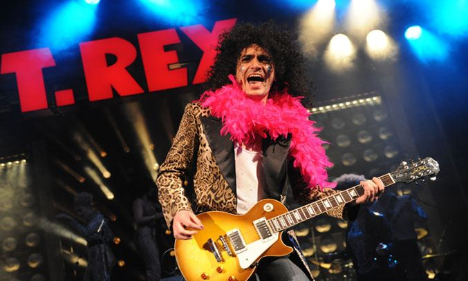 George Maguire as Marc Bolan in 20th Century Boy