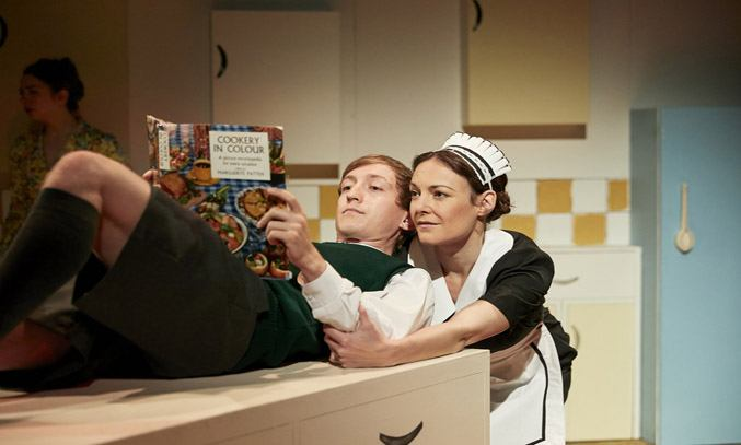 Sam Newton and Marie Lawrence in TOAST