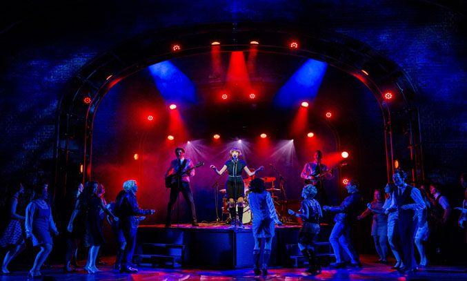 The cast of CILLA THE MUSICAL. Photo: Matt Martin
