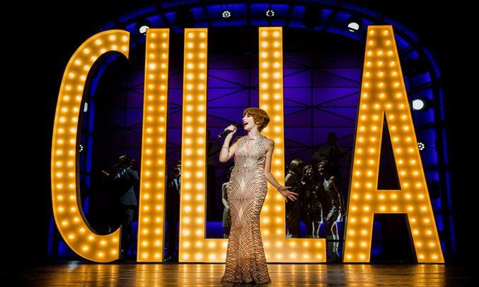 Kara Lily Hayworth as Cilla Black in CILLA THE MUSICAL. Photo: Matt Martin
