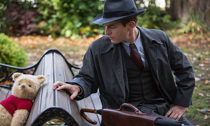 Ewan McGregor and Jim Cummings in Christopher Robin (2018)