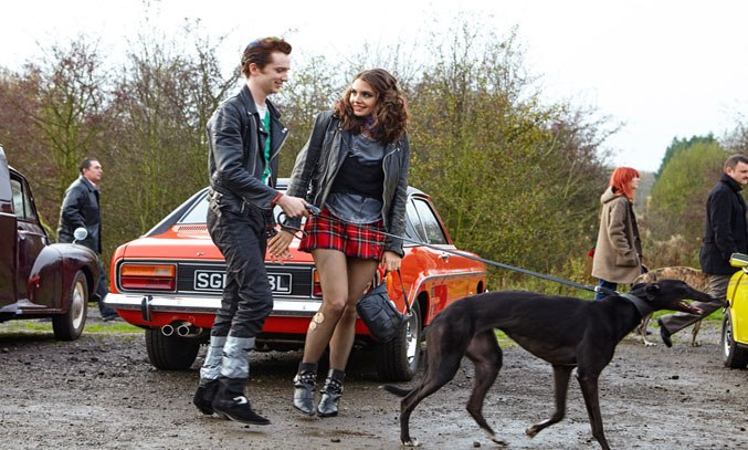Luke Newberry and Genevieve Gaunt in Dusty and Me (2016)