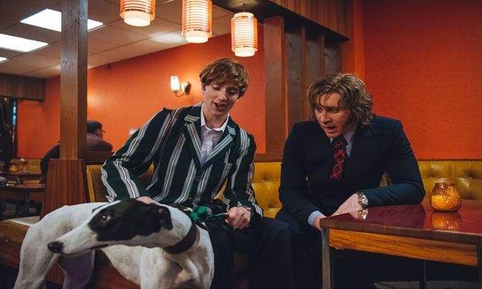 Luke Newberry and Ben Batt in Dusty and Me (2016)