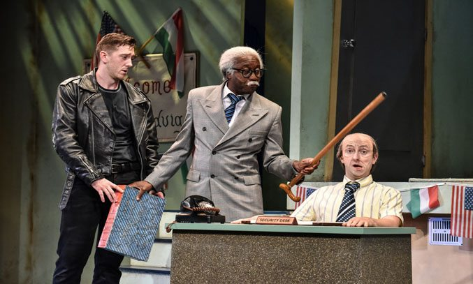 THE COMEDY ABOUT A BANK ROBBERY UK Tour