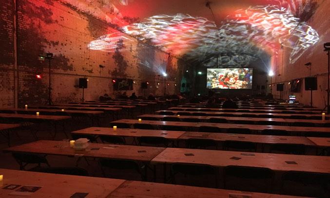 Festive Cinema at the Magical Christmas Movie Experience