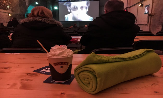 Hot Chocolate at the Magical Christmas Movie Experience