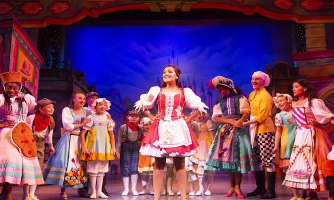The cast of CINDERELLA at Manchester's Opera House