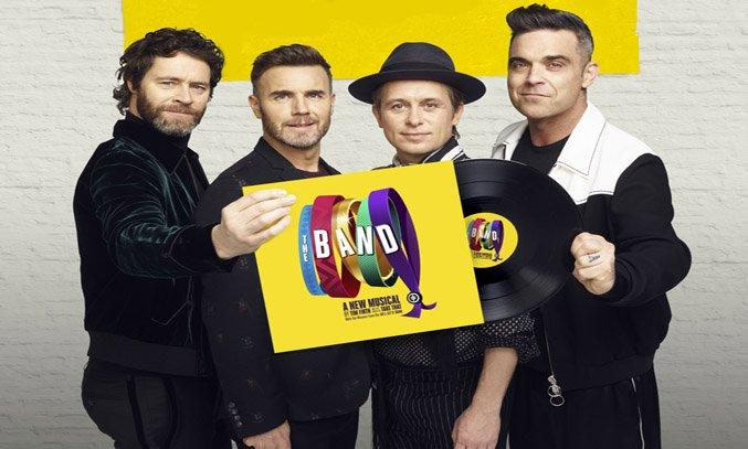 Howard Donald, Gary Barlow, Mark Owen and Robbie Williams. Photo Credit: Jay Brooks