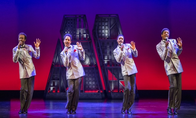 The Four Tops in MOTOWN THE MUSICAL