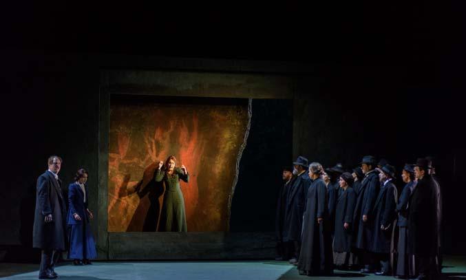 The cast of Opera North's Katya Kabanova