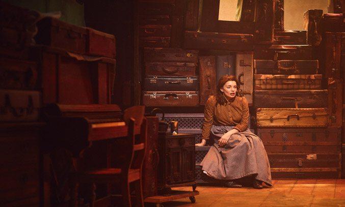 Rebecca Trehearn as Rebecca in RAGS at Hope Mill Theatre