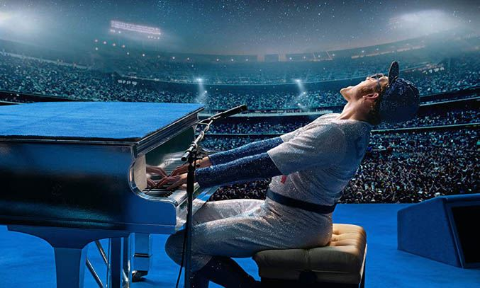 Taron Egerton as Elton John in ROCKETMAN (2019)