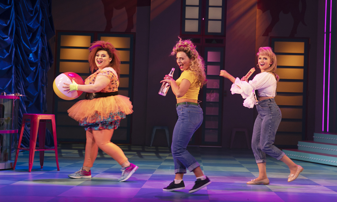 The cast of CLUB TROPICANA THE MUSICAL