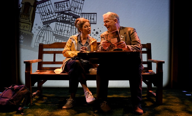 Leanne Rowley and Nik Wood-Jones in WRESTLING THE WALRUS