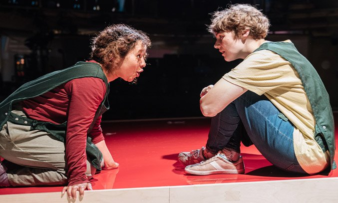 Nisa Cole & Katie West in THERE IS A LIGHT