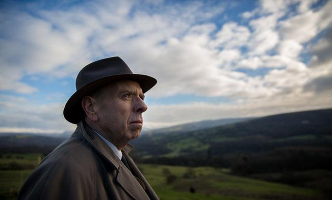 Timothy Spall as LS Lowry in Mrs Lowry & Son Film