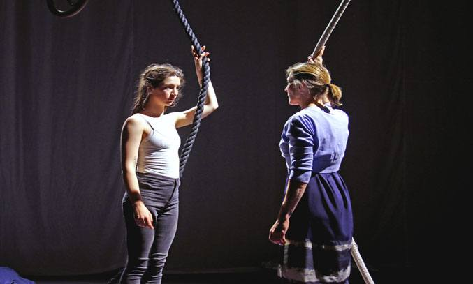 Maisy Taylor and Tamsin Shasha in EVERYTHING I SEE I SWALLOW