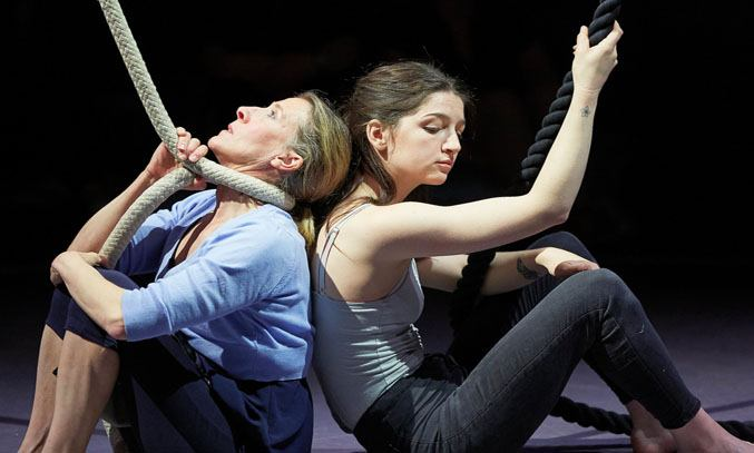 Tamsin Shasha and Maisy Taylor in EVERYTHING I SEE I SWALLOW
