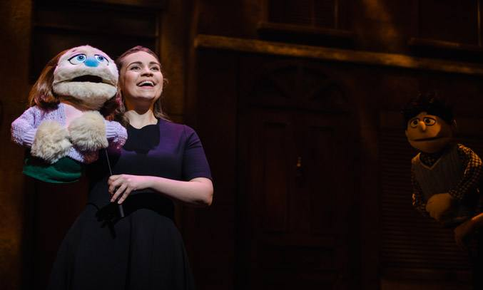 Cecily Redman as Kate Monster in AVENUE Q UK Tour