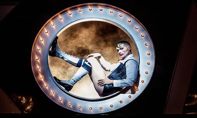 John Partridge as Emcee in CABARET. Photo Credit: The Other Richard