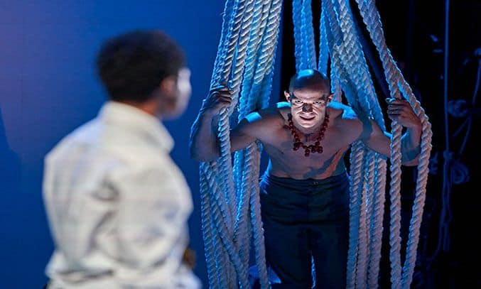 Keith Gilmore (Monster) in A MONSTER CALLS UK Tour