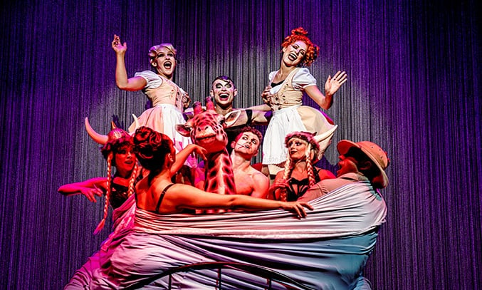 The cast of CABARET. Photo Credit: The Other Richard