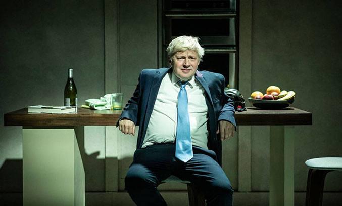 Will Barton as Boris Johnson in THE LAST TEMPTATION OF BORIS JOHNSON