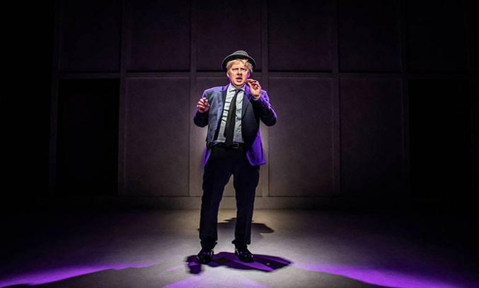 Will Barton as Boris Johnson in THE LAST TEMPTATION OF BORIS JOHNSON.