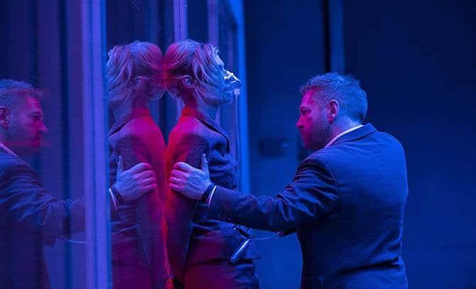 Kenneth Branagh and Elizabeth Debicki in Tenet (2020)