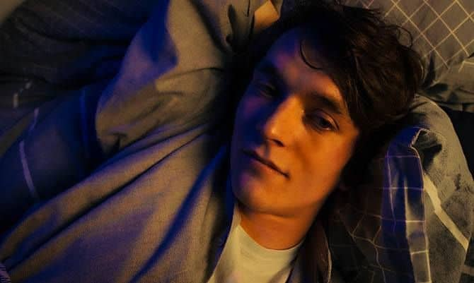 Fionn Whitehead in THE PICTURE OF DORIAN GRAY