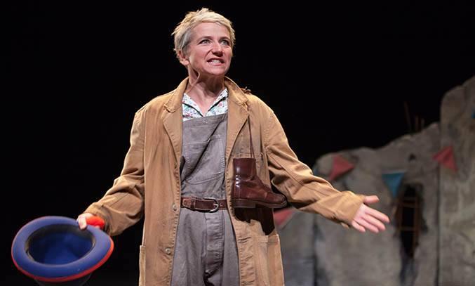 Alison Reid in AN ELEPHANT IN THE GARDEN.